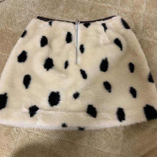 snidel - snidel ダルメシアンスカート