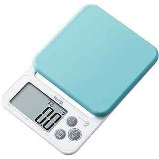 BL2kgタニタ デジタルクッキングスケール 2kg/0.1g ブルー KJ-2(調理機器)