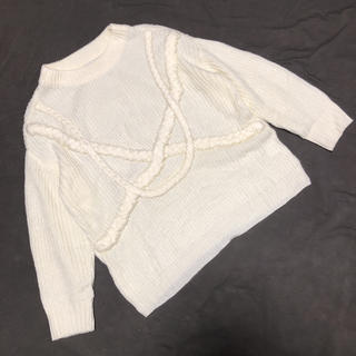 Ameri VINTAGE - アメリビンテージ AMERI 3D ニット セーター 美品