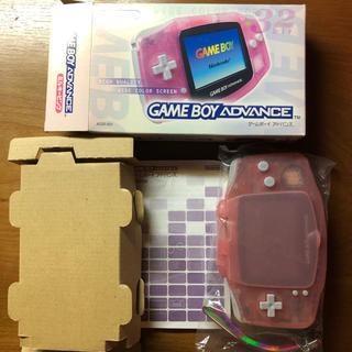 ゲームボーイアドバンス(ゲームボーイアドバンス)のゲームボーイアドバンス 本体 ミルキーピンク(携帯用ゲーム機本体)