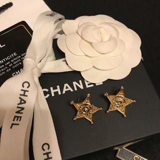 CHANEL - 【新入荷】エレガントカジュアルな装いにピッタリ♪ 星型、シェリフ型ピアス