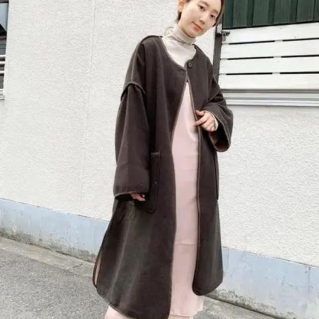 Kastane(カスタネ)のkastane ガウン レディースのジャケット/アウター(ガウンコート)の商品写真
