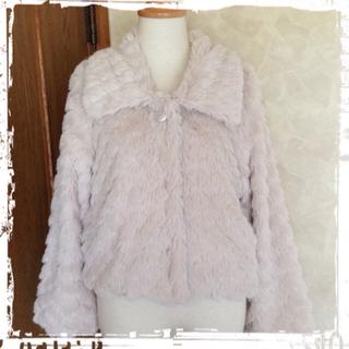 パターンフィオナ(PATTERN fiona)の新品タグ付♡ショートファーコート♡(毛皮/ファーコート)