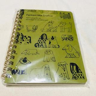 リサラーソン(Lisa Larson)のリサラーソン 犬 リングノート 新品(ノート/メモ帳/ふせん)