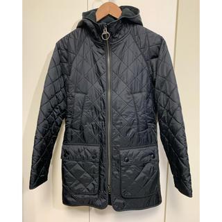 バーブァー(Barbour)のBarbour Hooded Polar Quilt SL サイズ34 バブアー(ミリタリージャケット)