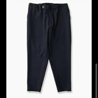 ワンエルディーケーセレクト(1LDK SELECT)のselvage wool cook pants ブラック graphpaper(スラックス)
