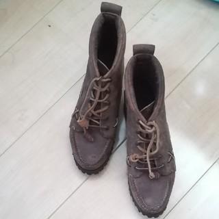 ポロラルフローレン(POLO RALPH LAUREN)のRALPH LAUREN 革のブーツ (ブーツ)