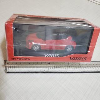トヨタ - 新型ヤリス YARIS ミニカー ブラック×コーラルクリスタルシャイン