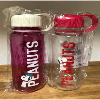 ピーナッツ(PEANUTS)のスヌーピー PEANUTSウォーターボトル400ml 2本 水筒 マイボトル弁当(タンブラー)