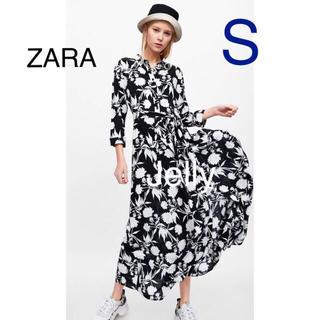 ZARA - 【タグ付き新品】ザラ 花柄 マキシ ロング ワンピース