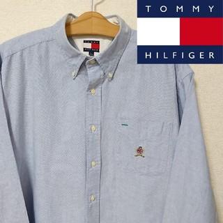 TOMMY HILFIGER - 【美品】TOMMY HILFIGER 長袖 オックスフォードシャツ XLサイズ