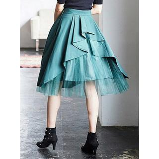 トランテアンソンドゥモード(31 Sons de mode)のバックシャンスカート(ひざ丈スカート)