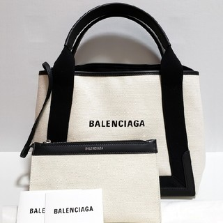 Balenciaga - 未使用⭐バレンシアガ ネイビーカバ S  ブラック