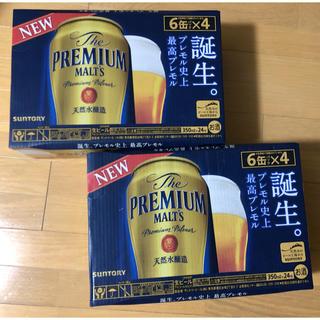 サントリー(サントリー)のサントリー  プレミアムモルツ  350ml 24缶×2ケース(ビール)