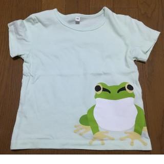 MUJI (無印良品) - 【無印良品】カエルTシャツ100cm