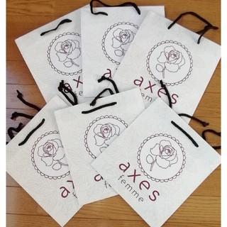 アクシーズファム(axes femme)の値下げ 新品 Axes femme ショップ袋 ショッパー 紙袋 (ショップ袋)