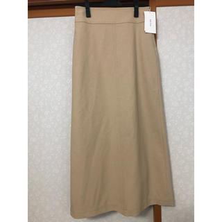 Mila Owen - 《新品タグ付き》ミラオーウェン Wステッチデザインロングスカート