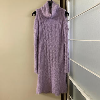 CECIL McBEE - セシルマクビー紫ワンピ