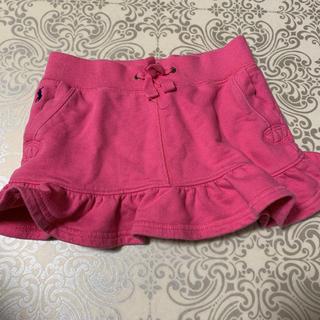 ラルフローレン(Ralph Lauren)の【RALPH LAUREN】 スカート キッズ 90cm ピンク系(その他)