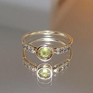 アッシュペーフランス(H.P.FRANCE)のtatsuo nagahata タツオナガハタ ダイヤ リング ピンキーリング(リング(指輪))