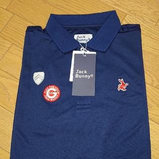 PEARLY GATES - 【新品未使用】ジャックバニーメンズポロシャツネイビーサイズ6