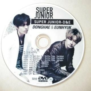 スーパージュニア(SUPER JUNIOR)のSUPER JUNIOR D&E  DVD(K-POP/アジア)