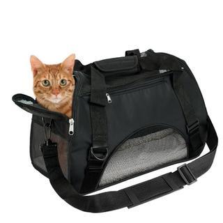 ペット キャリーバッグ 犬猫用 ショルダー (猫)