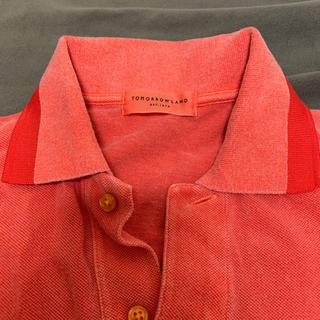 トゥモローランド(TOMORROWLAND)の鹿の子ポロシャツ メンズSサイズ(ポロシャツ)
