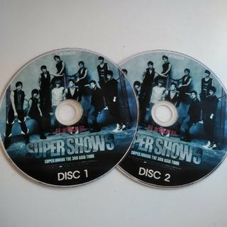 スーパージュニア(SUPER JUNIOR)の【SUPER JUNIOR】SUPER SHOW3  DVD(K-POP/アジア)