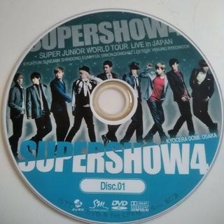 スーパージュニア(SUPER JUNIOR)の【SUPER JUNIOR】SUPER SHOW4  DVD(K-POP/アジア)