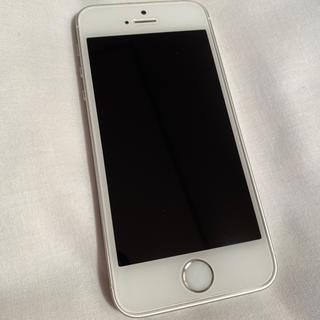 iPhone - iPhone SE 128GB シルバー