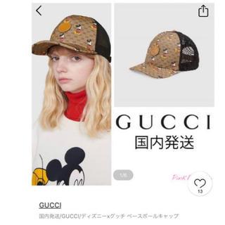 Gucci - ディズニー×GUCCI キャップ