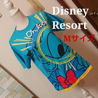 Disney - ディズニーリゾート   Tシャツ ドナルド 1日着用