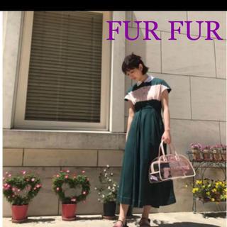ファーファー(fur fur)のfurfur  ワンピース(ひざ丈ワンピース)