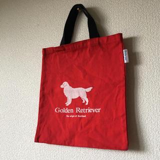 ゴールデンリトリバー(Golden Retriever)のゴールデンレトリバー golden retreiver トートバッグ 犬 ドッグ(トートバッグ)