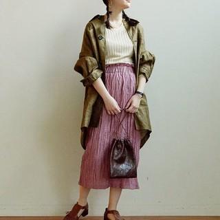 アトリエドゥサボン(l'atelier du savon)のRy/Ny ワッシャースカート(¥5300より値下げ)(ロングスカート)