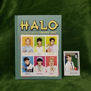 ☆HALO  セカンド ミニアルバム☆(K-POP/アジア)