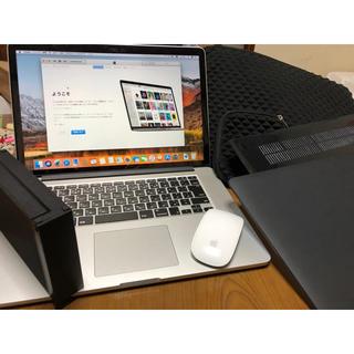 Mac (Apple) - Macbook pro Rentina 15インチ 2015 豪華セット