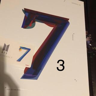 ボウダンショウネンダン(防弾少年団(BTS))のBTS バンタン アルバム バージョン3 CD トレカQRコード無し(K-POP/アジア)