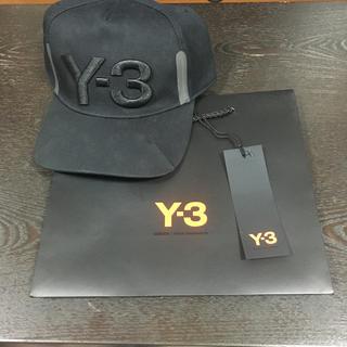 ワイスリー(Y-3)のy-3 キャップ未使用品(キャップ)
