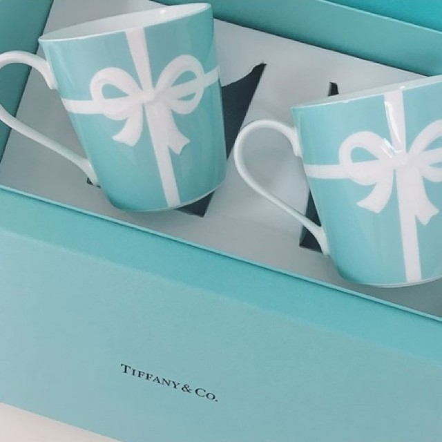 Tiffany & Co.(ティファニー)のTIFFANYブルーリボン4点セット インテリア/住まい/日用品のキッチン/食器(食器)の商品写真
