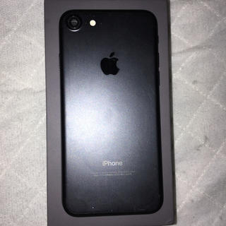 Apple - ジャンク品 iPhone7マットブラックバックパネル