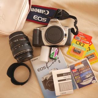 キヤノン(Canon)のCanon EOS KISS Ⅲ フィルムカメラ+レンズ EF28-105mm (フィルムカメラ)