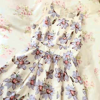 dazzlin - ダズリン花柄ワンピース