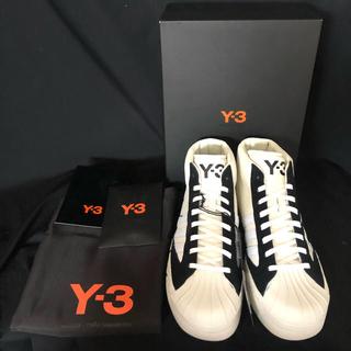ワイスリー(Y-3)のY-3 Yohji Pro adidas YOHJIYAMAMOTO(スニーカー)