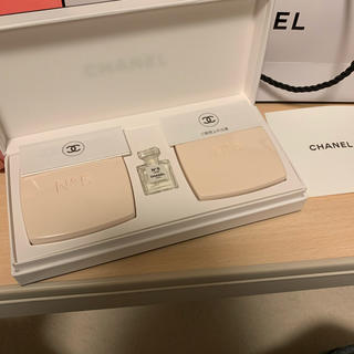 CHANEL - CHANEL 石鹸 香水付き