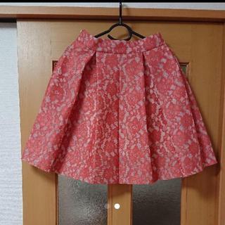 トランテアンソンドゥモード(31 Sons de mode)の31 Sons de mode レースボンディングスカート(ひざ丈スカート)