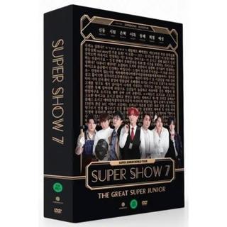 SUPER JUNIOR - SUPERJUNIOR SS7 DVD(ソウル版)