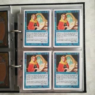 マジックザギャザリング(マジック:ザ・ギャザリング)のMTG 神秘の教示者/Mystical Tutor[6ED] 4枚セット(シングルカード)