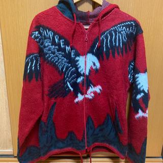 Supreme - Supreme 16AW Eagle Hooded Zip Up Sweat
